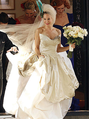 vivienne westwood wedding dress sex and the city movie. So the Vivienne Westwood